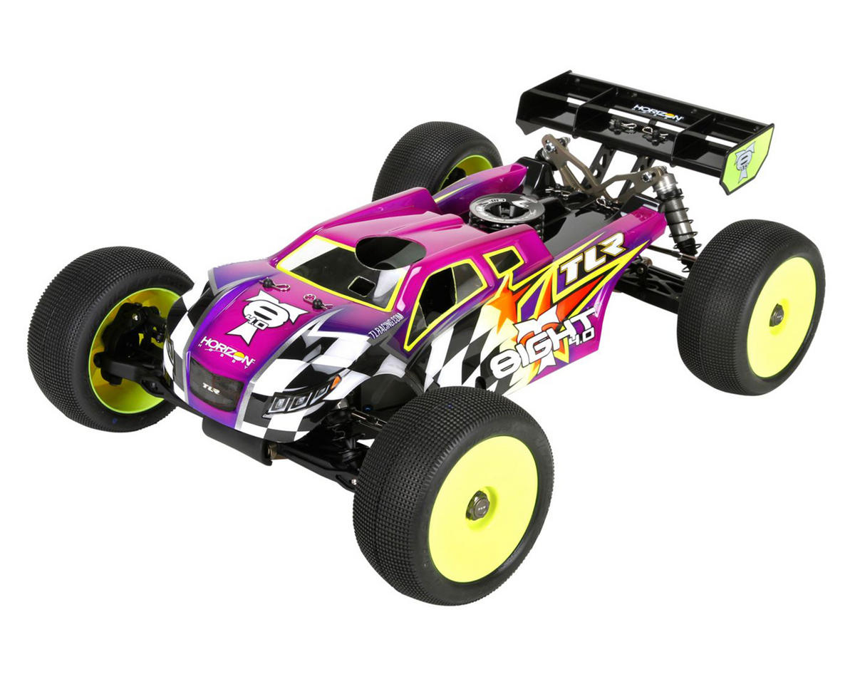 8IGHT-T 4.0 1/8 4WD Nitro Truggy Race Kit by Team Losi Racing