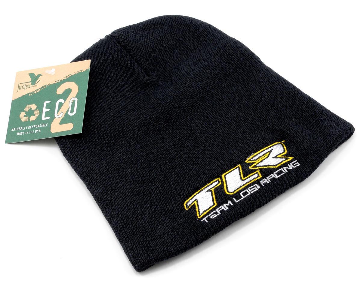 """""""TLR"""" Skull Cap (Black) by Team Losi Racing"""