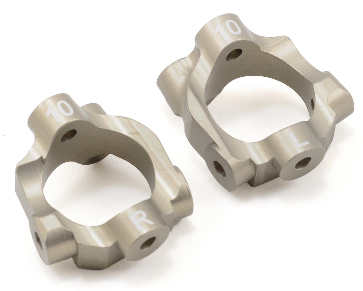 Team Losi Racing 10° Aluminum Hub Carrier Set (TLR 22)