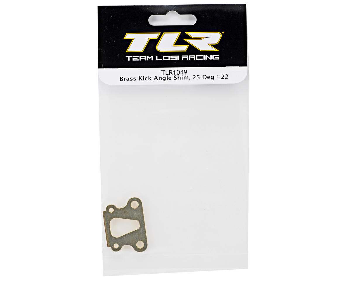 Team Losi Racing 25° Brass Kick Angle Shim (TLR 22)