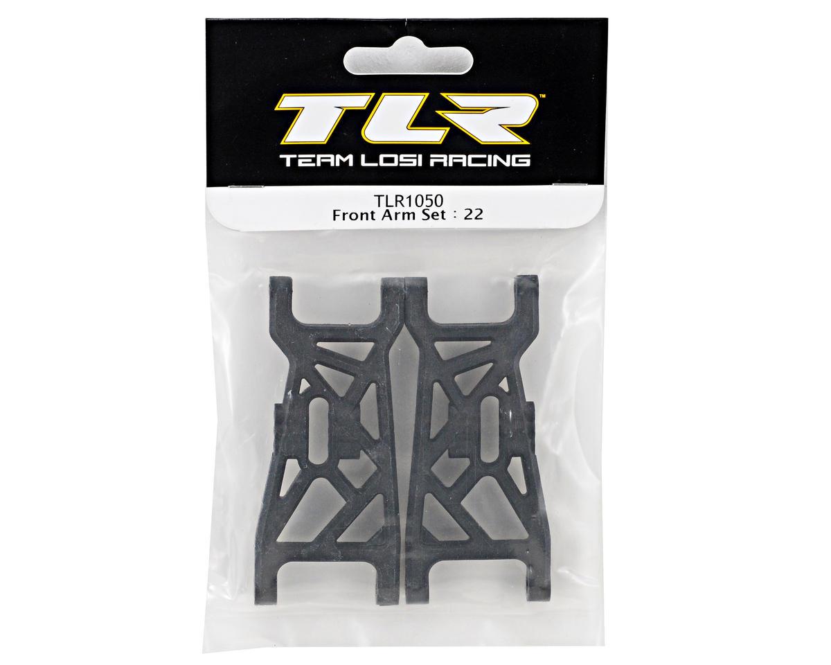 Team Losi Racing 22 2.0 TLR1050 Front Arm Set 22