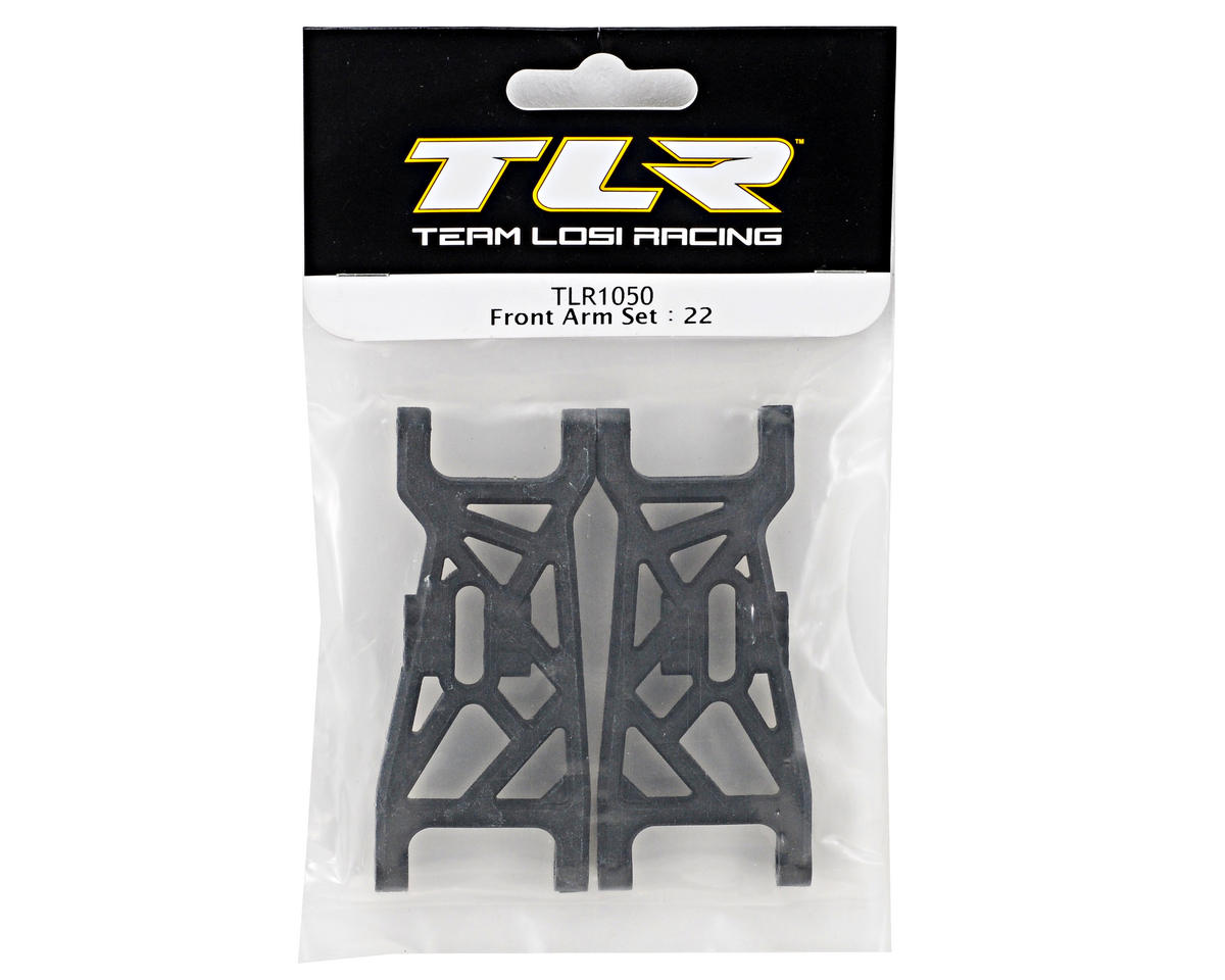 Team Losi Racing Front Arm Set (TLR 22)