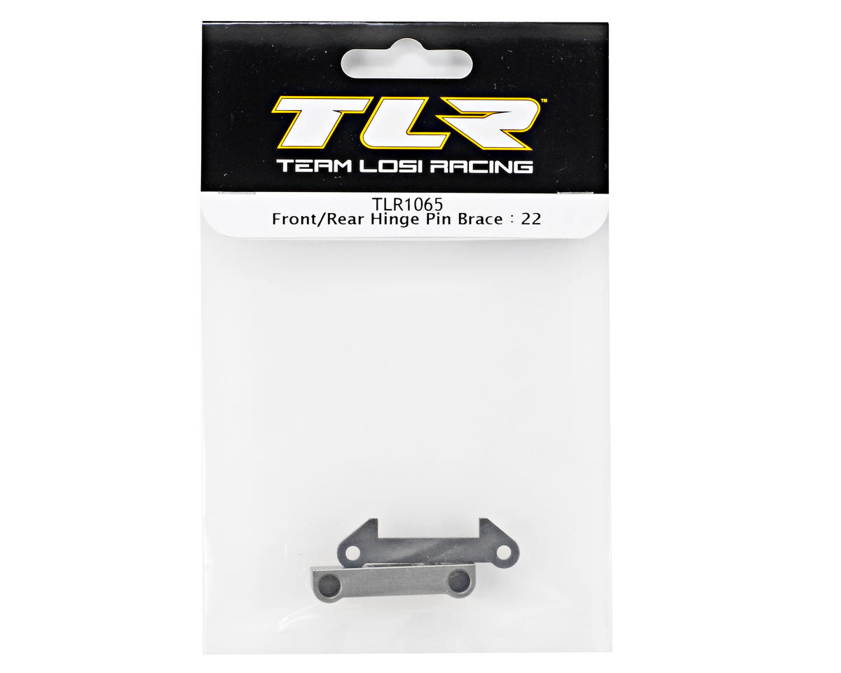 Team Losi Racing Front/Rear Hinge Pin Brace (TLR 22)