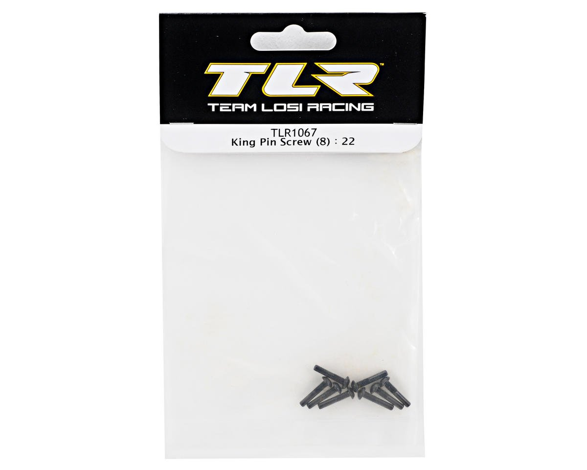 Team Losi Racing King Pin Screw Set (8) (TLR 22)