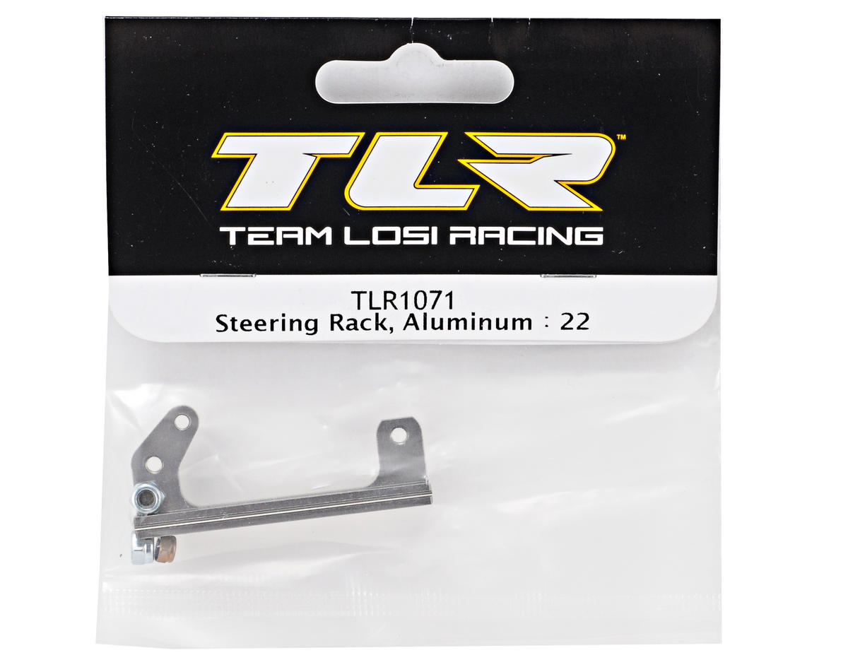 Team Losi Racing Aluminum Steering Rack (TLR 22)