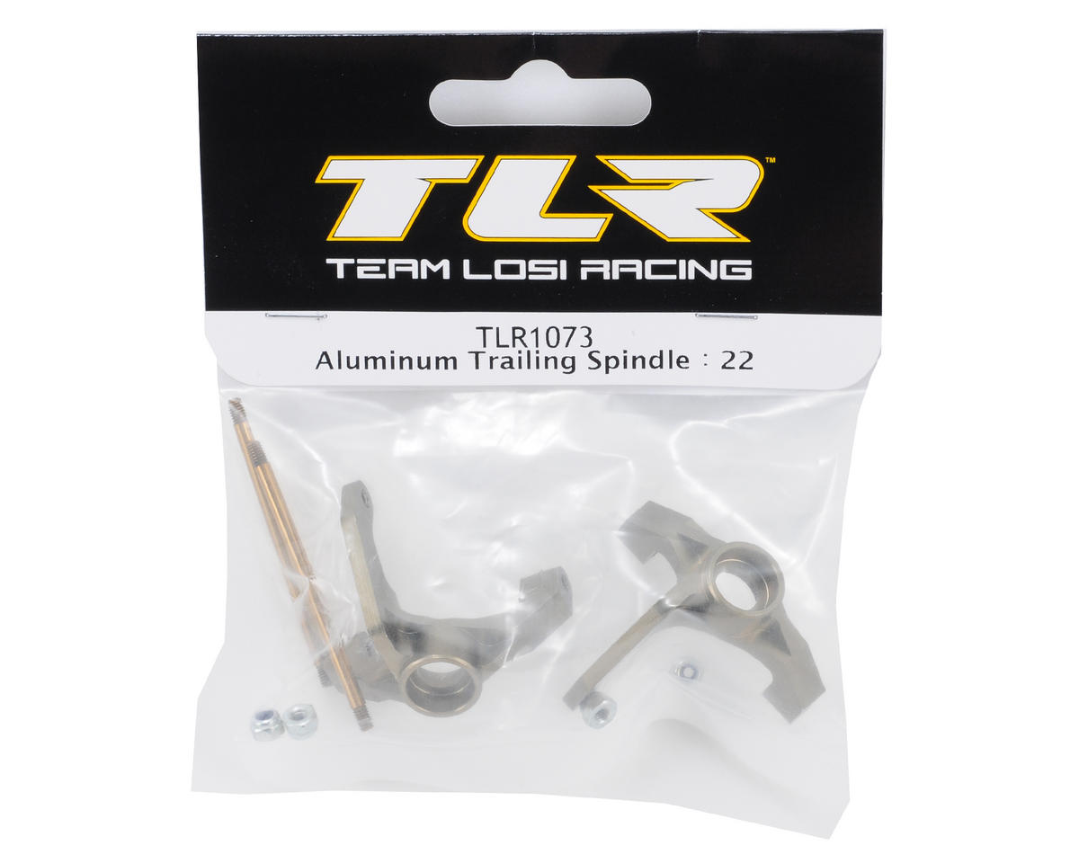 Team Losi Racing Aluminum Trailing Spindle (TLR 22)