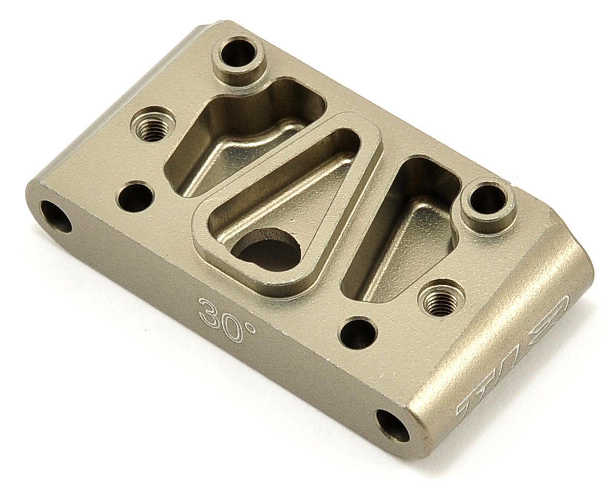 Team Losi Racing Aluminum 30° Front Pivot Block