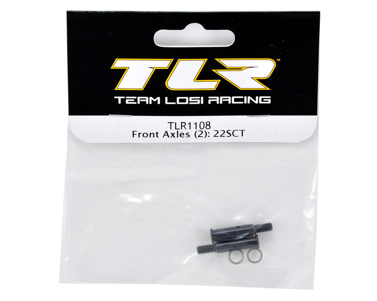Front Axle Set (2) by Team Losi Racing