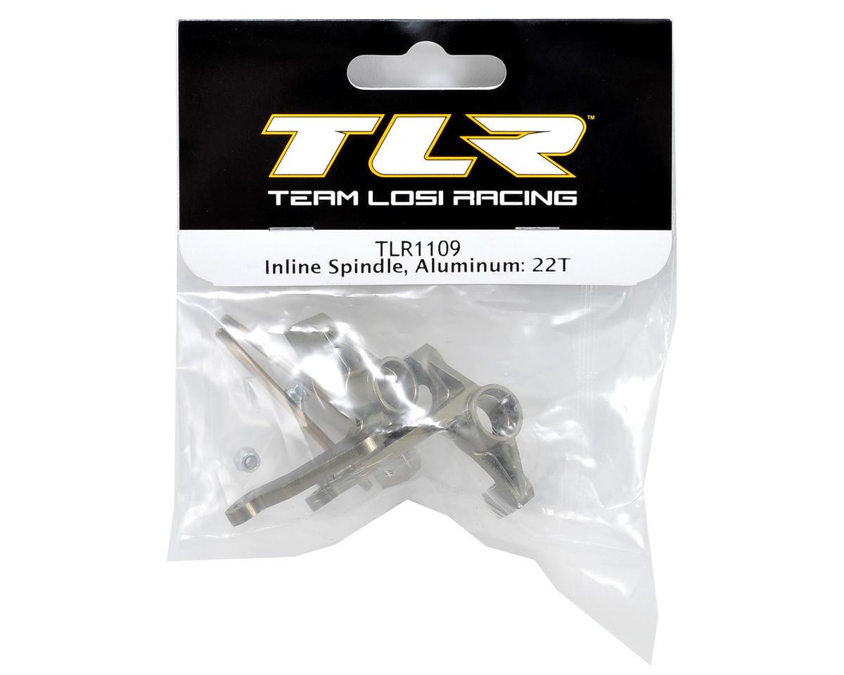 Team Losi Racing Aluminum Inline Spindle Set