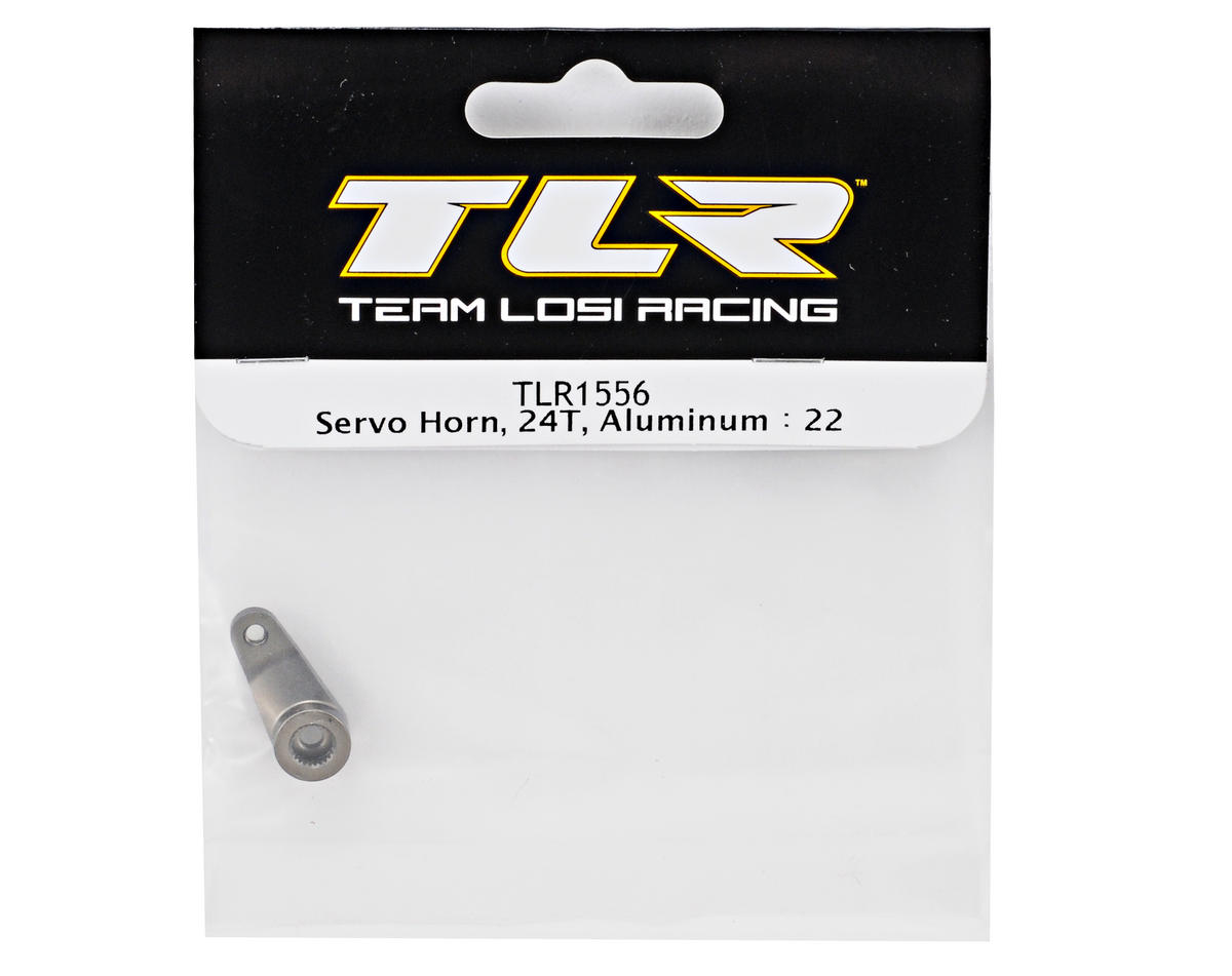 Team Losi Racing Aluminum Servo Horn (24T-Hitec) (TLR 22)