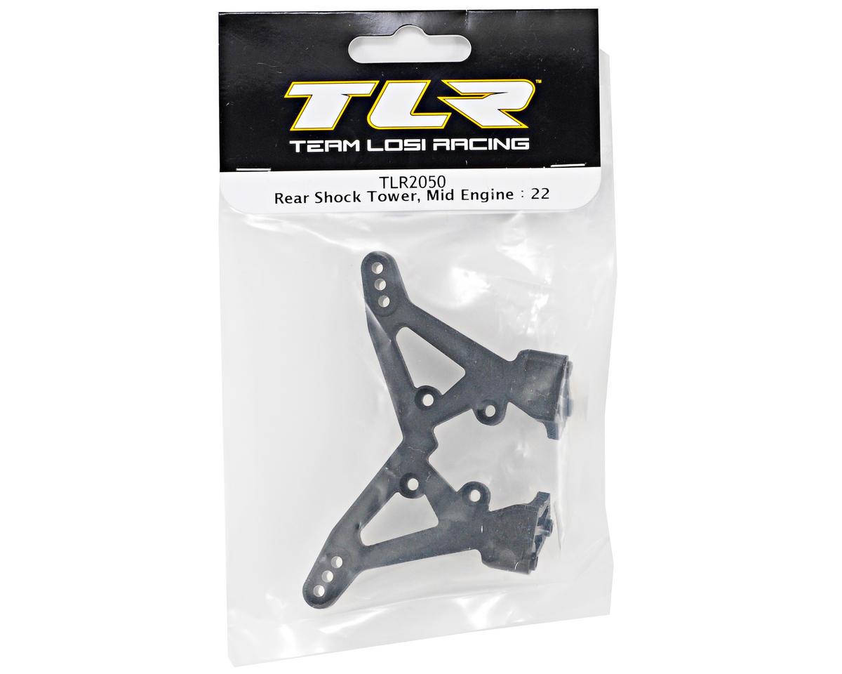 Team Losi Racing Rear Shock Tower (Mid Motor) (TLR 22)