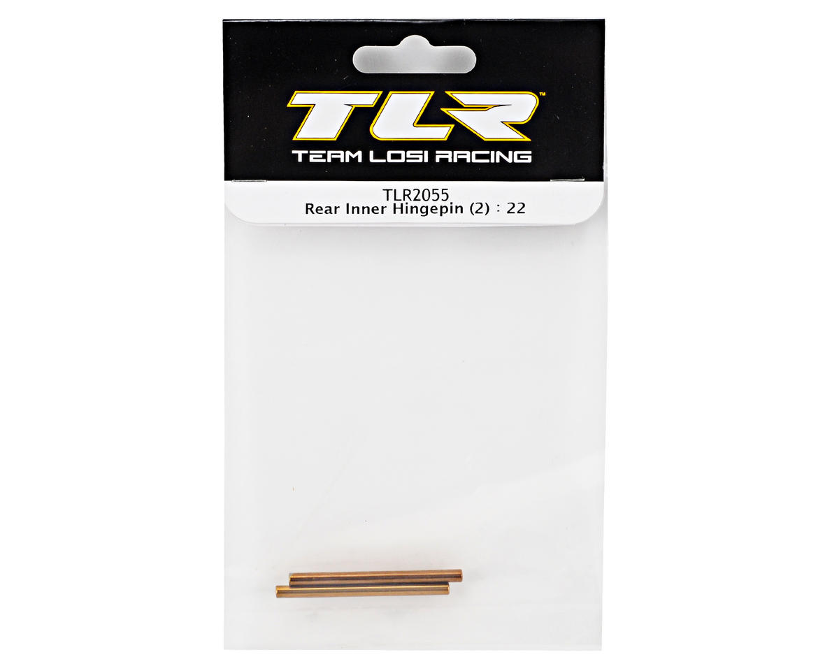 Team Losi Racing Rear Inner Hinge Pin Set (2) (TLR 22)
