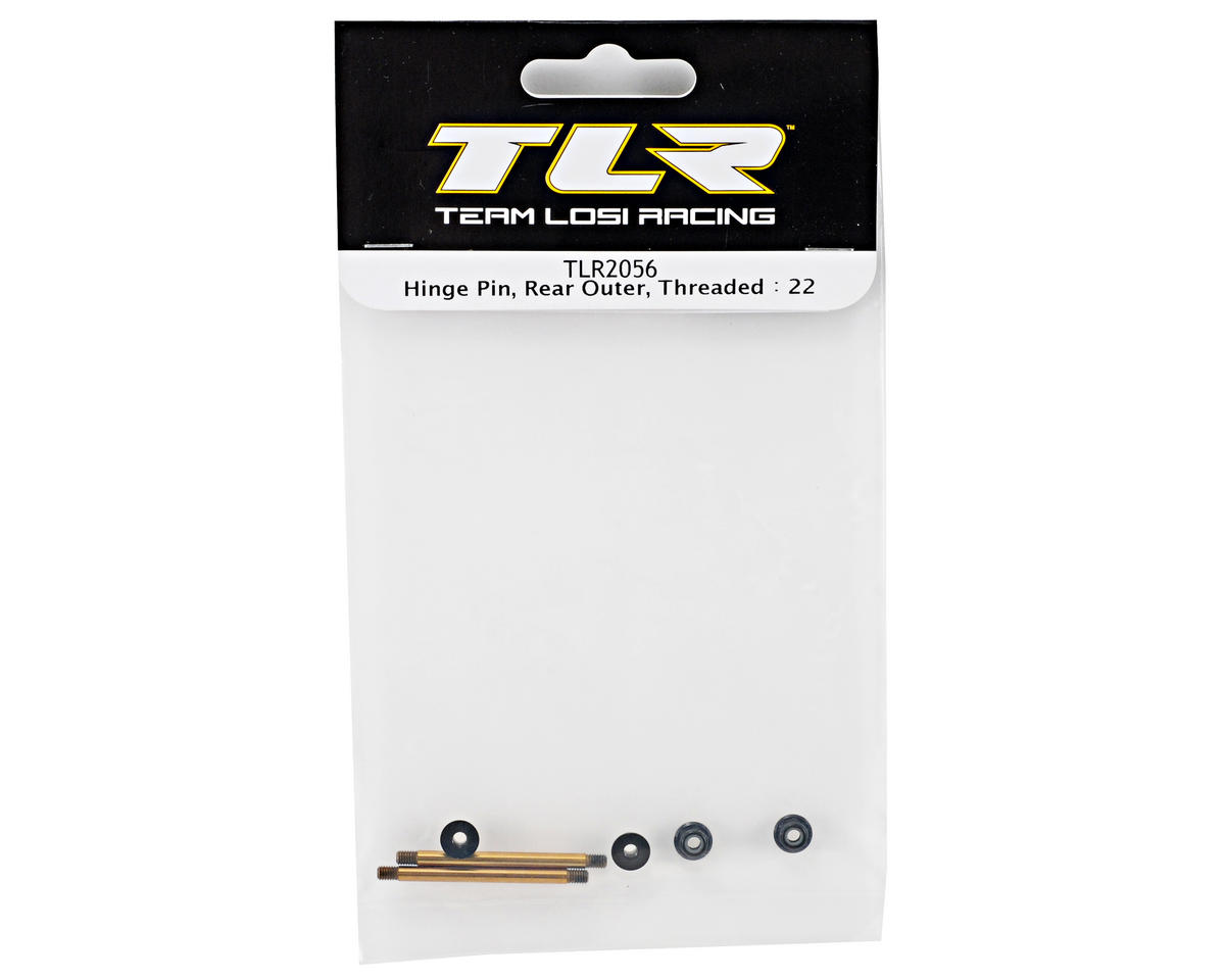 Team Losi Racing Threaded Rear Outer Hinge Pin (TLR 22)