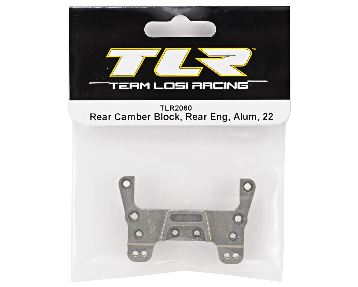Team Losi Racing Aluminum Rear Motor Rear Camber Block