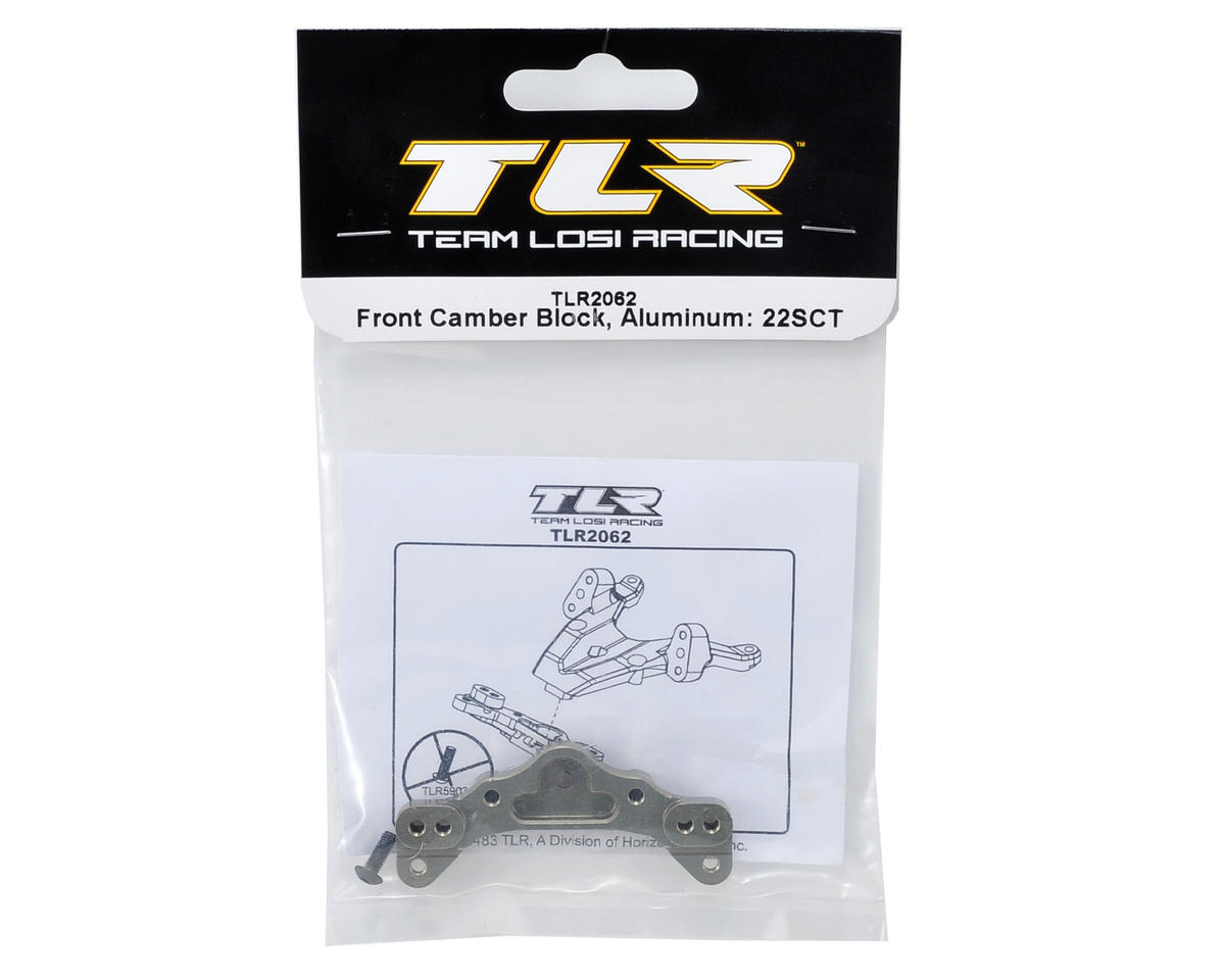 Team Losi Racing Aluminum Front Camber Block