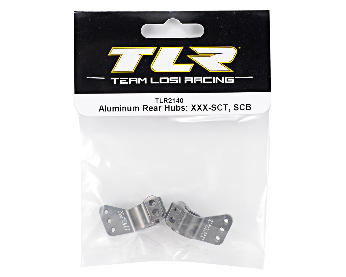 Team Losi Racing Aluminum Rear Hub Set