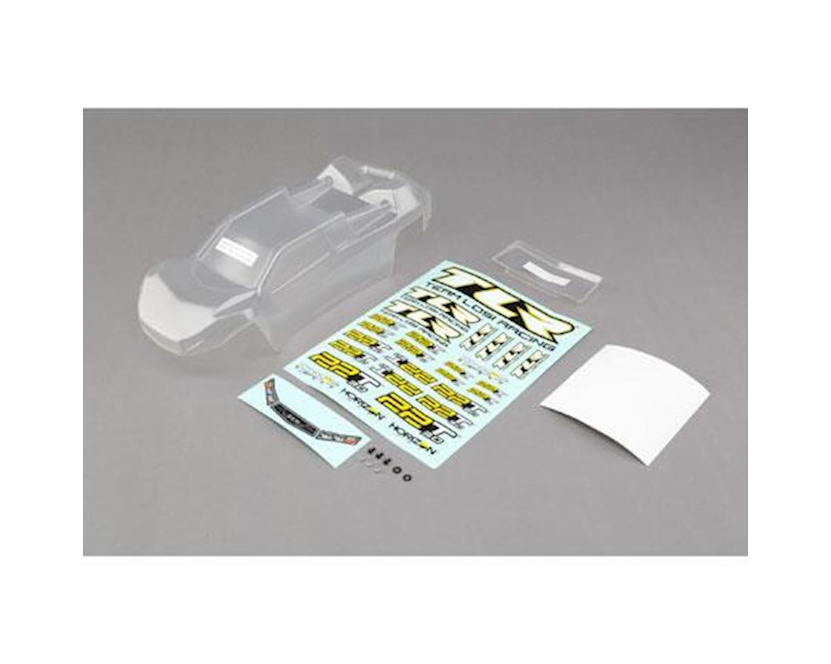 Team Losi Racing 22T 3.0 Stadium Truck Body Set (Clear)