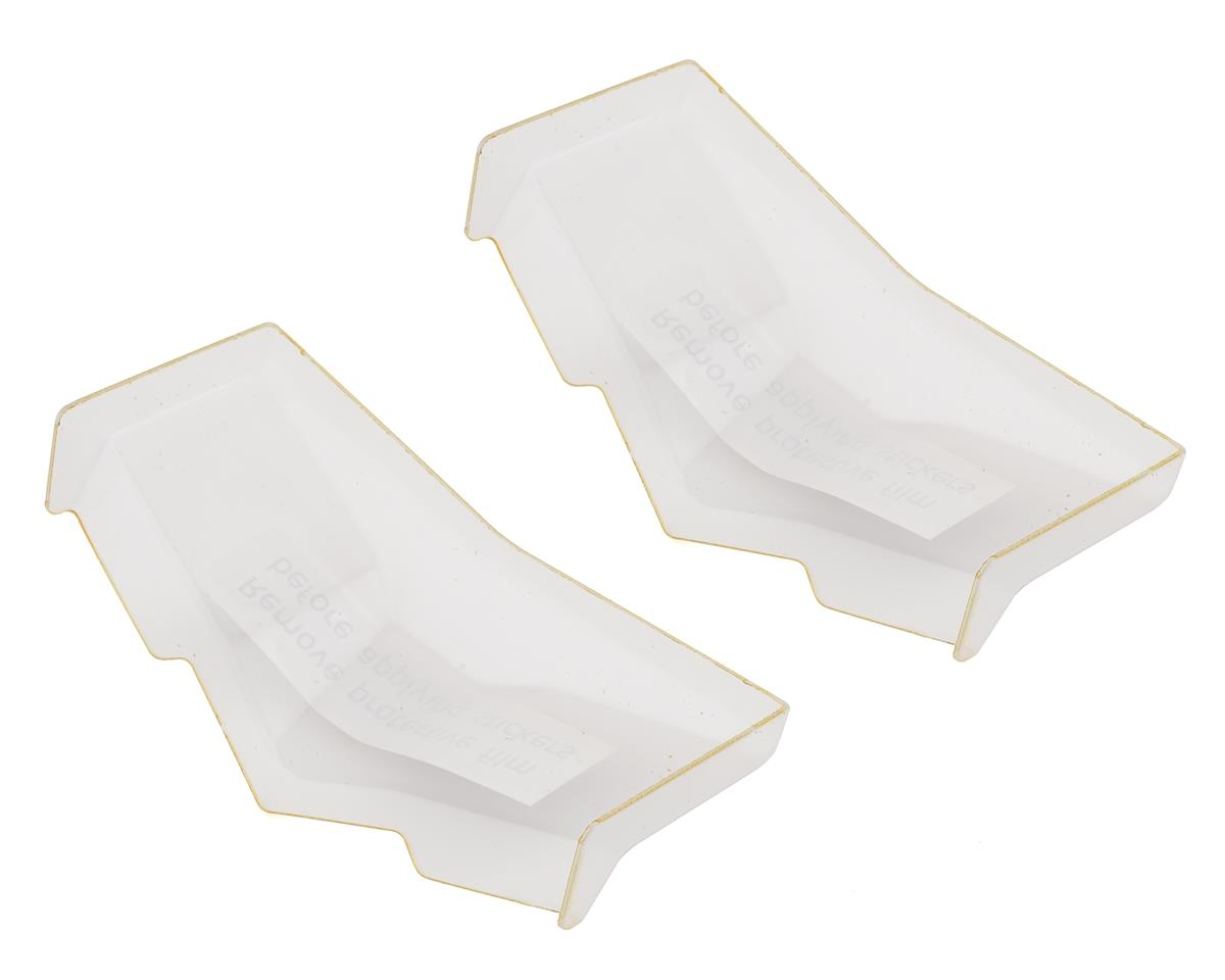 Team Losi Racing Wide High Front Wing (Clear) (2)