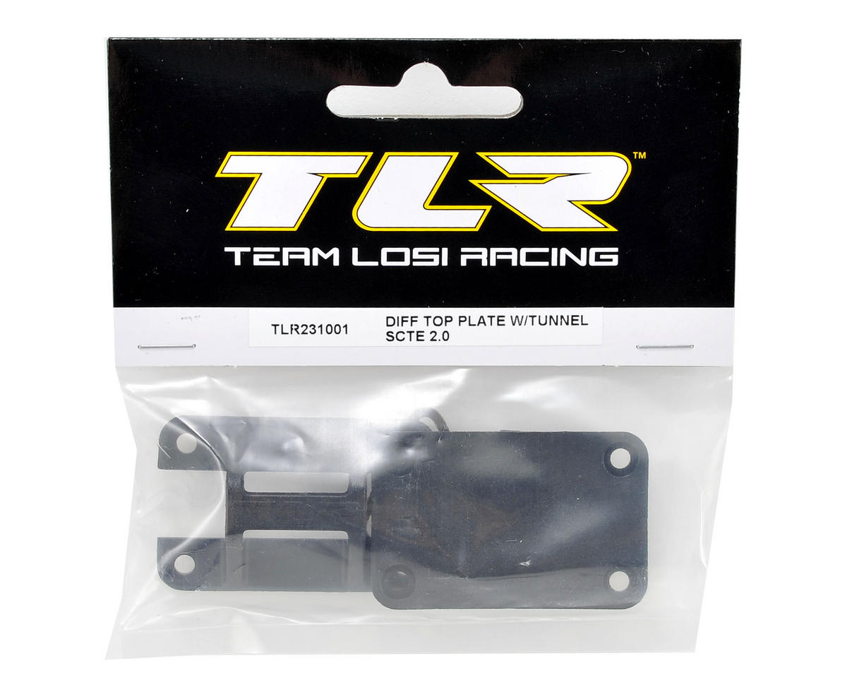 Team Losi Racing Differential Top Plate w/Tunnel