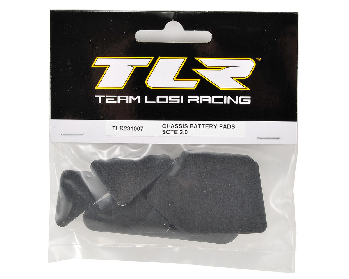 Team Losi Racing Chassis Battery Pad Set