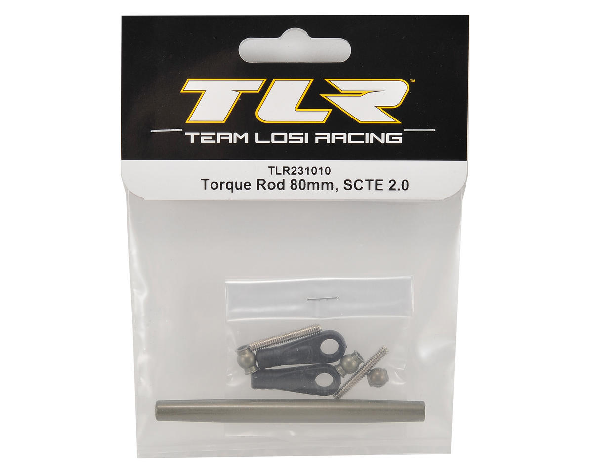 Team Losi Racing 80mm Front Torque Rod Set