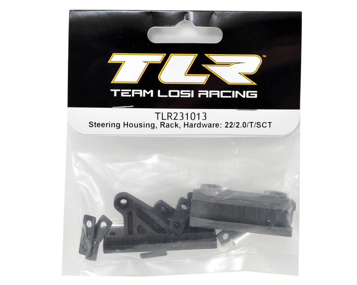 Team Losi Racing 22 2.0 Steering Rack & Housing Set w/Hardware