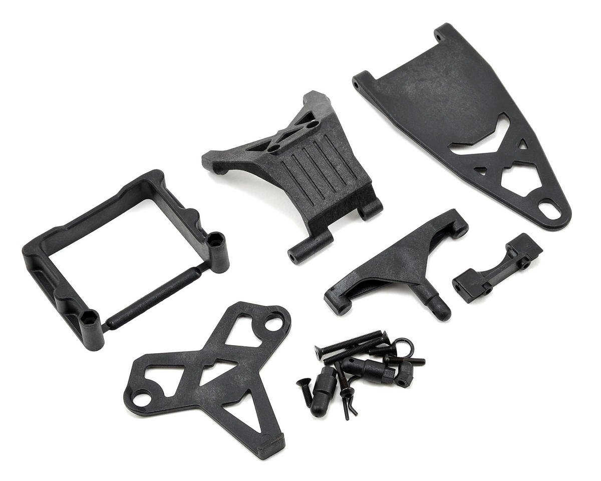Team Losi Racing 22 2.0 Mid/Rear Battery Mount Set
