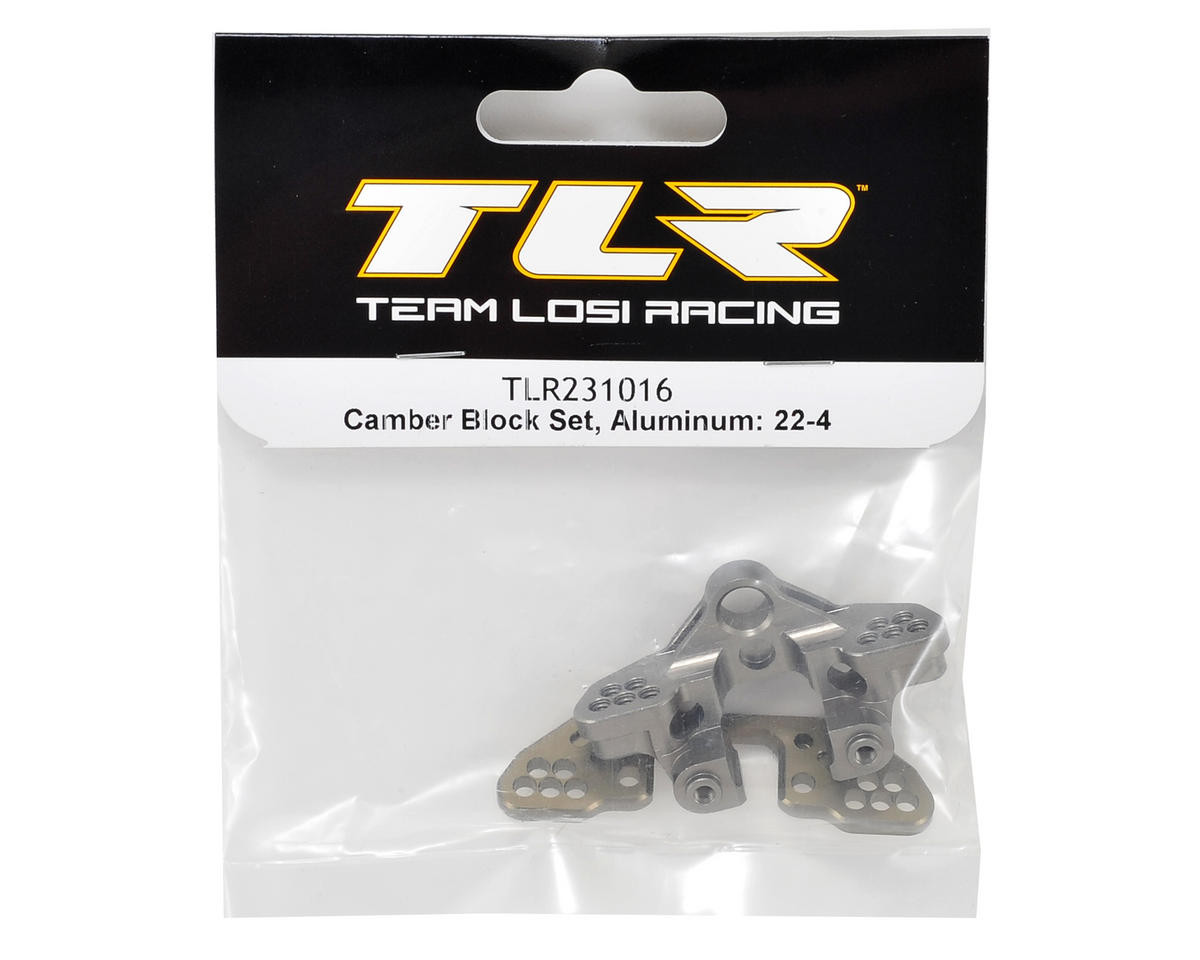 22-4 Aluminum Camber Block Set by Team Losi Racing