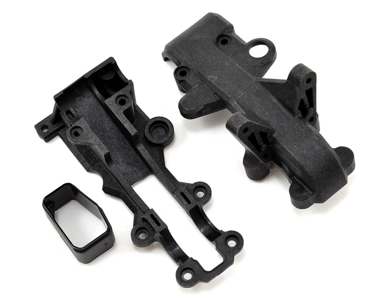Team Losi Racing 22-4 Front Belt Cover & Sub Frame Set