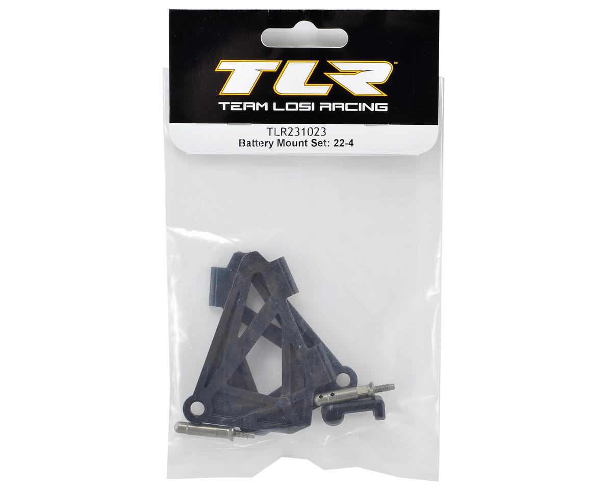 Team Losi Racing 22-4 Battery Mount Set
