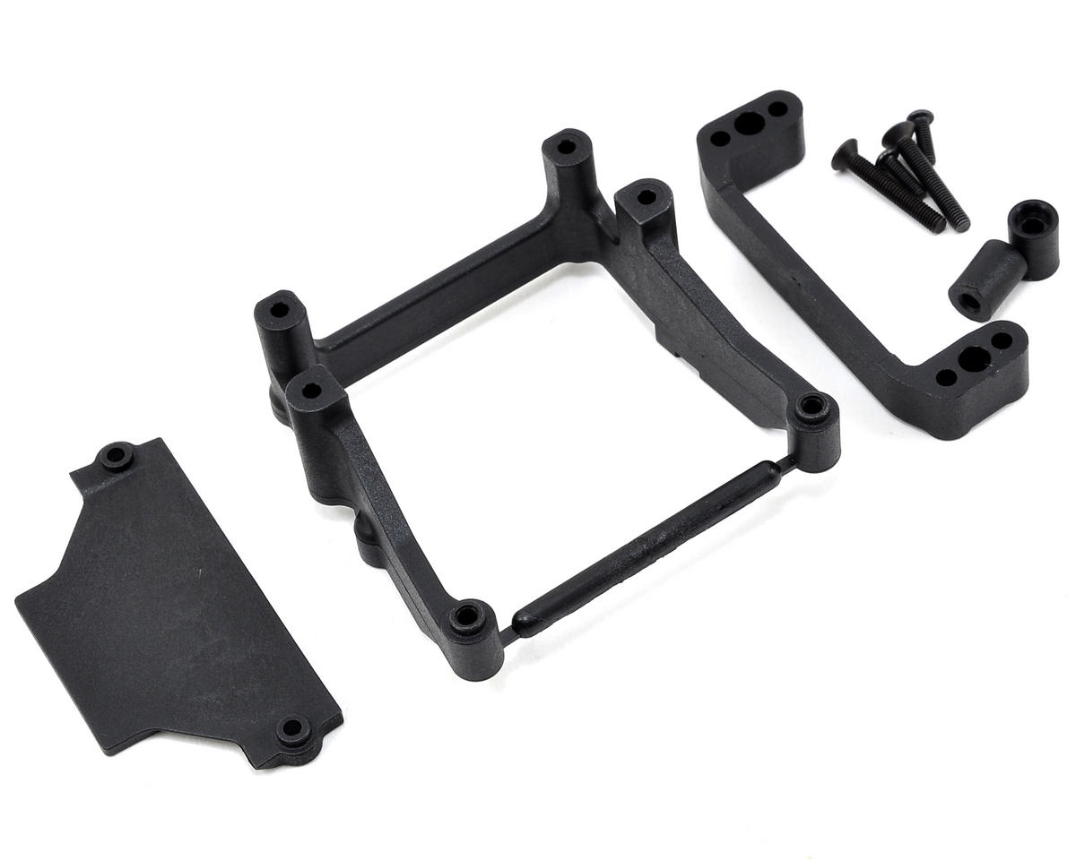 Rear Motor Battery Tray & Mount Set by Team Losi Racing