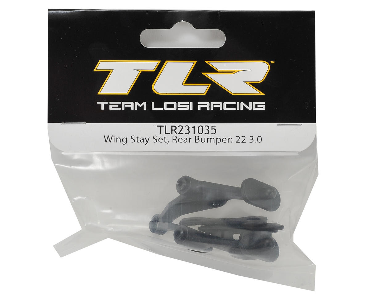 Team Losi Racing 22 3.0 Wing Stay Set & Rear Bumper