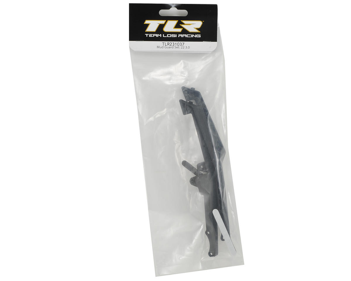Team Losi Racing 22 3.0 Mud Guard Set