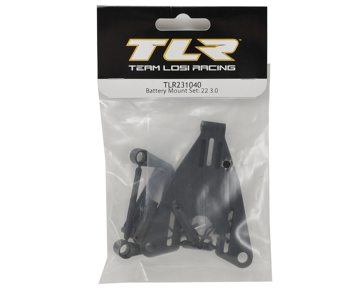 Team Losi Racing 22 3.0 Battery Mount Set