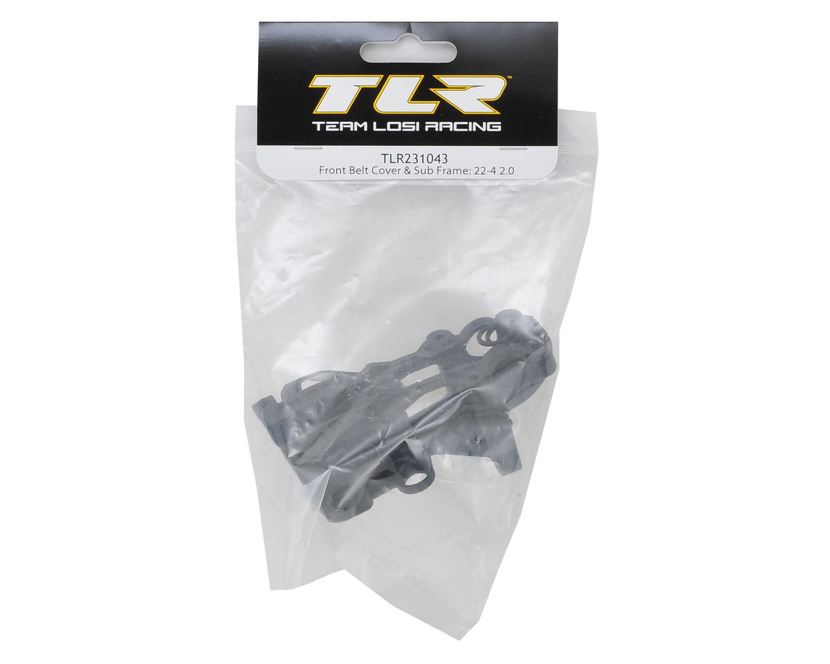 Team Losi Racing 22-4 2.0 Front Belt Cover & Sub Frame