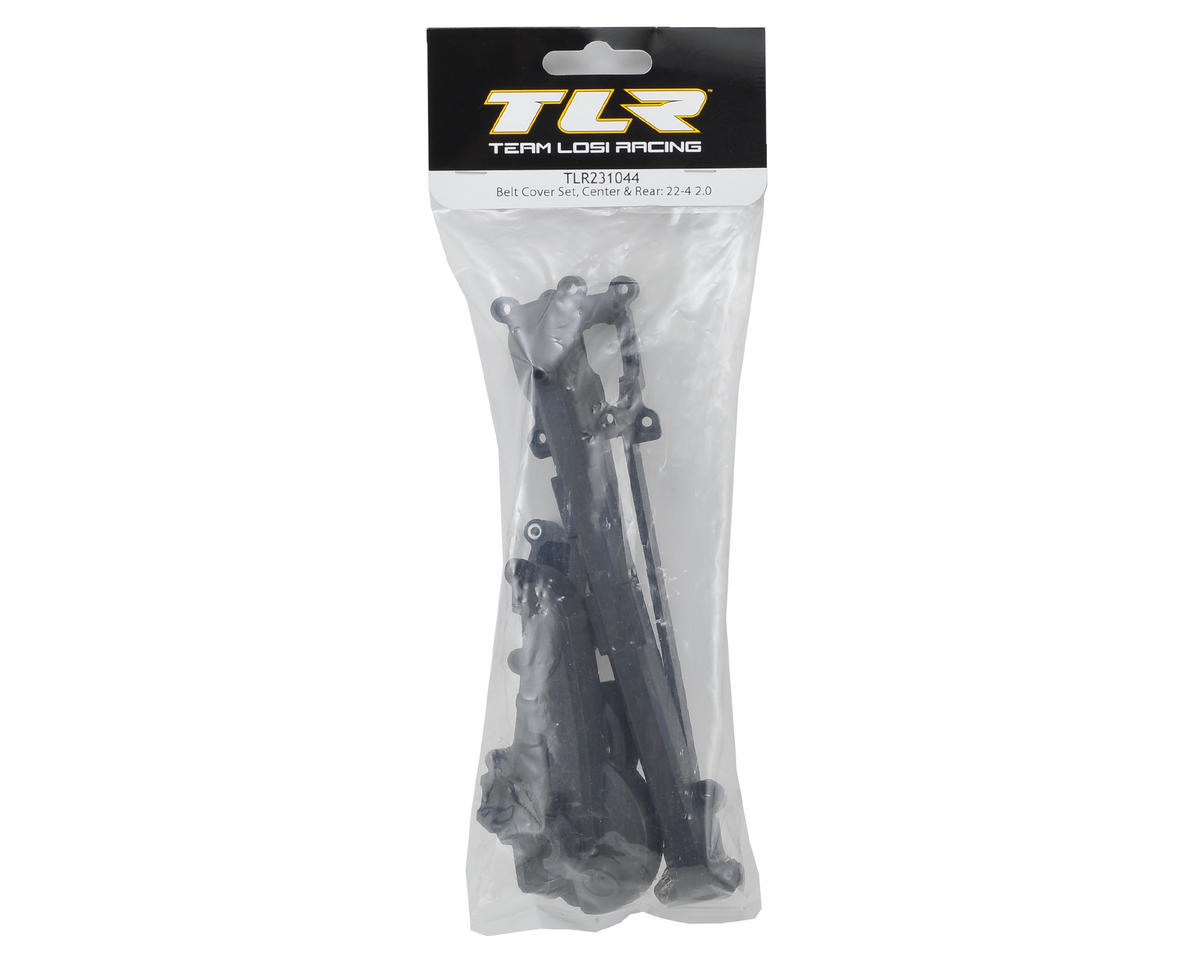 22-4 2.0 Belt Cover Set by Team Losi Racing