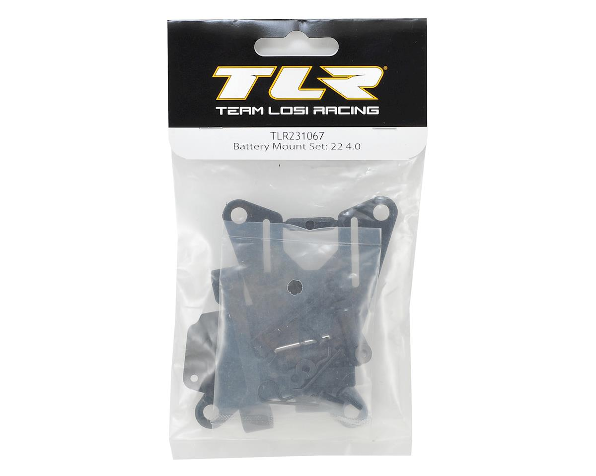 Team Losi Racing 22 4.0 Battery Mount Set
