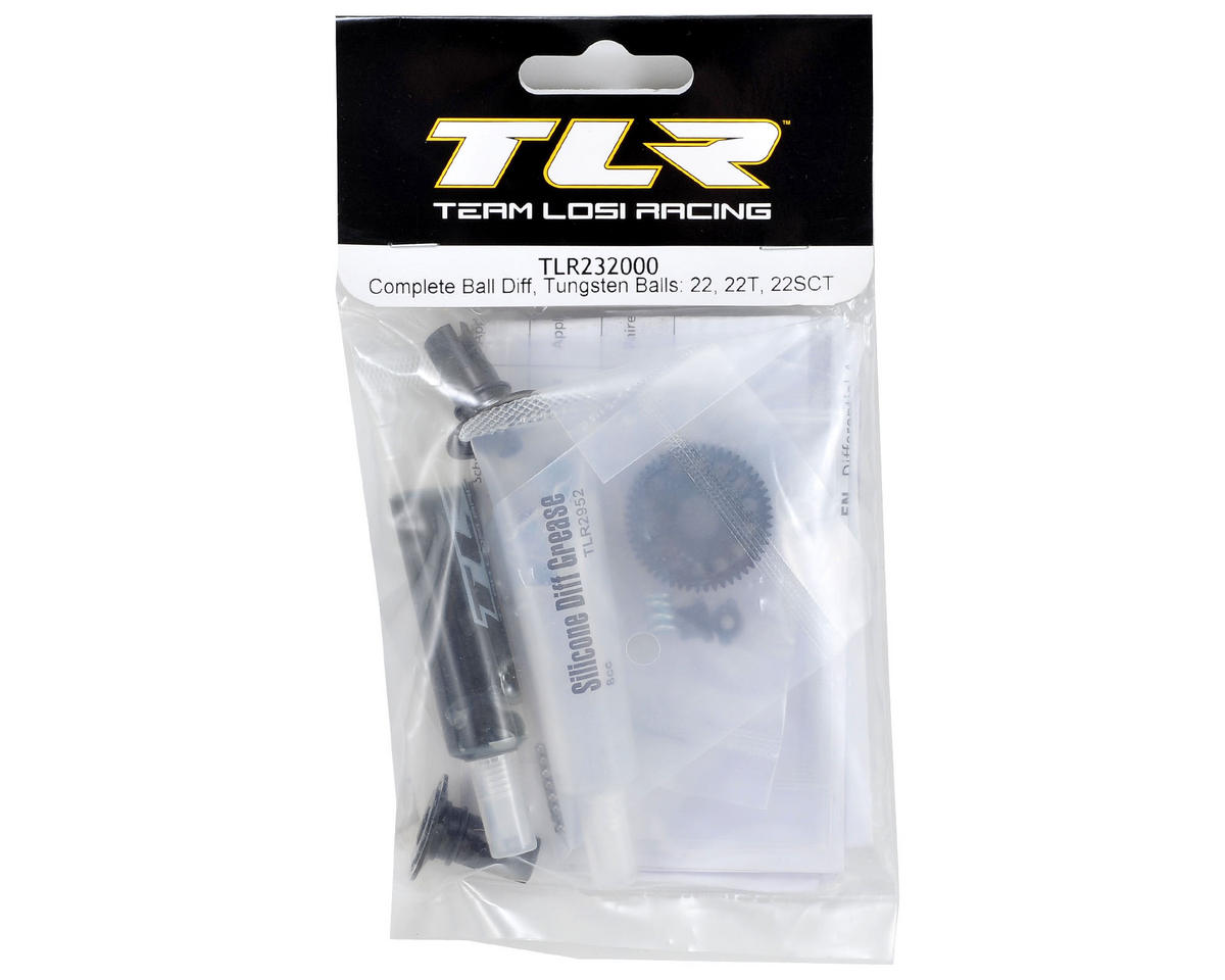Team Losi Racing Complete Ball Differential w/Tungsten Balls