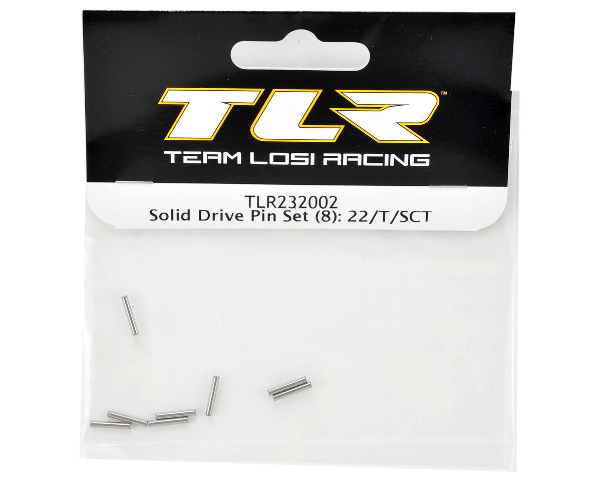Team Losi Racing Solid Drive Pin Set (8)