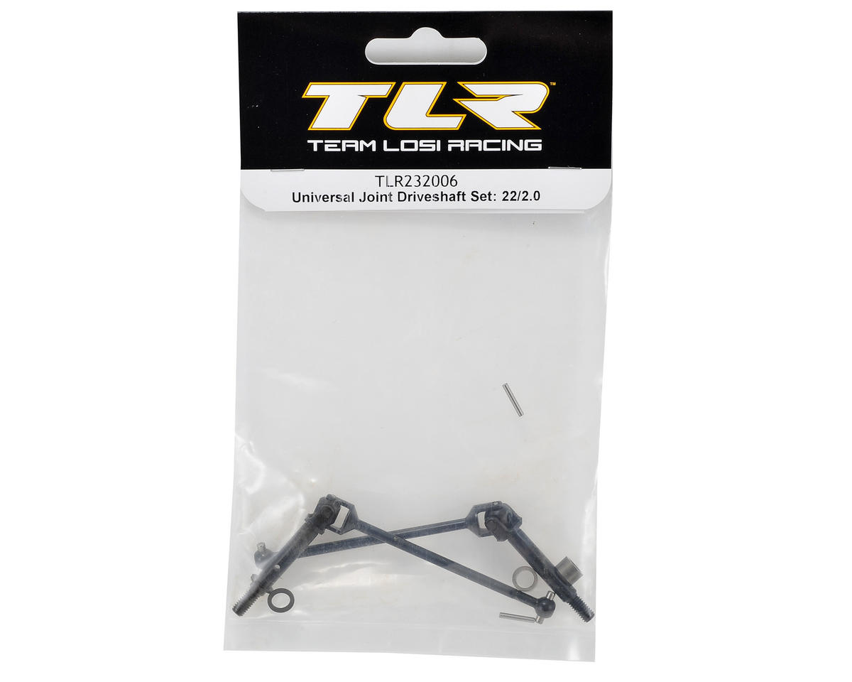 Team Losi Racing 22 Universal Joint Driveshaft Set