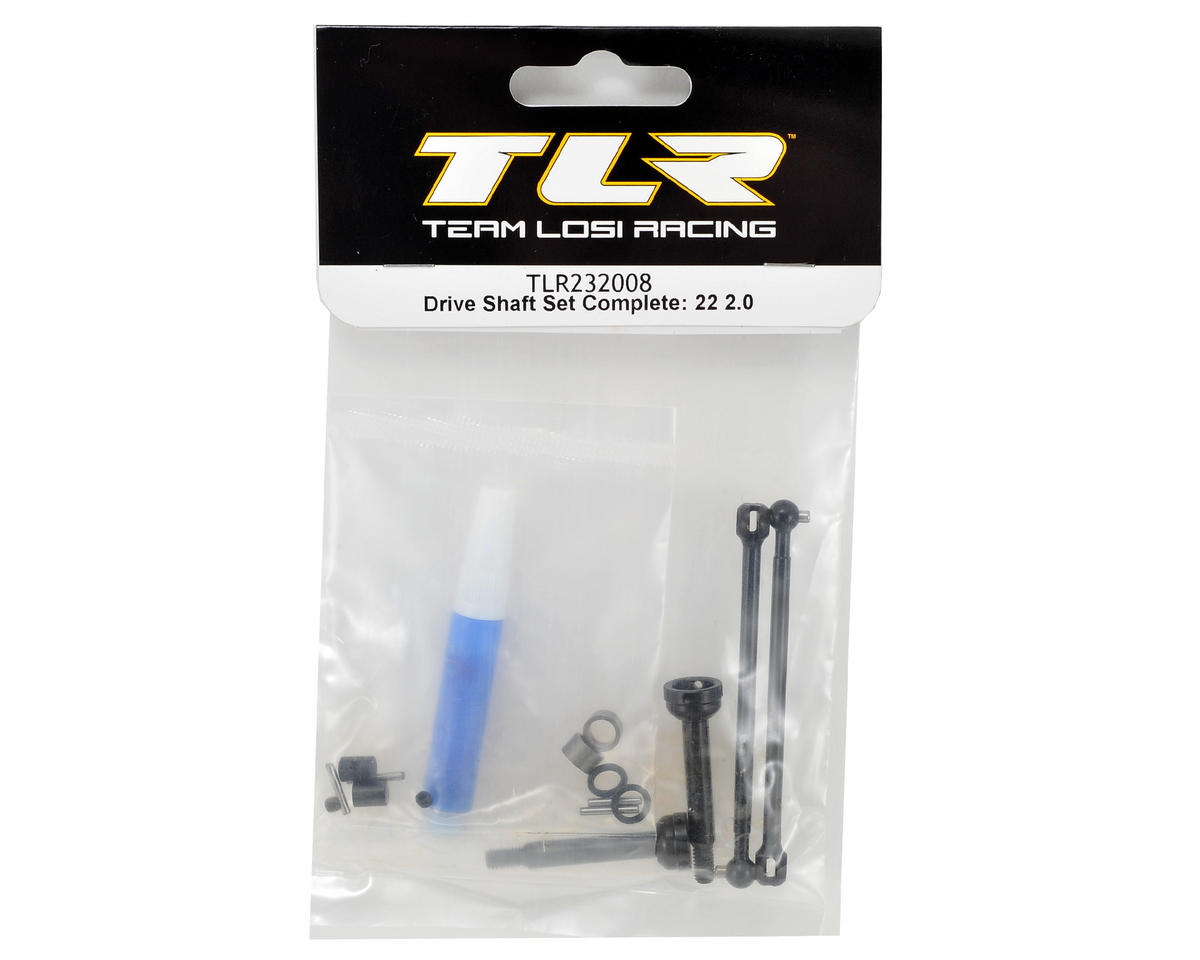 Team Losi Racing 22 2.0 Complete Drive Shaft Set