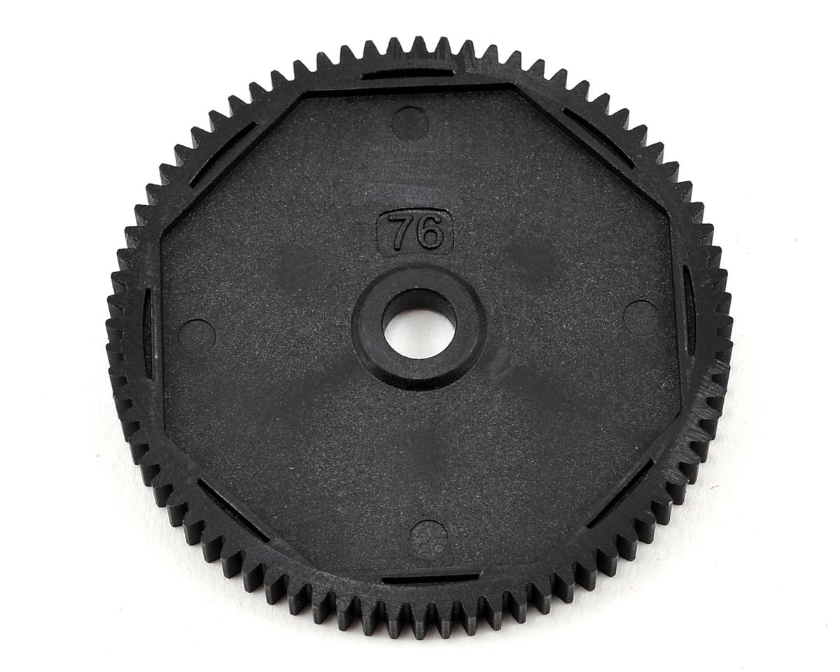 48P HDS Spur Gear (Made with Kevlar) (76T) by Team Losi Racing
