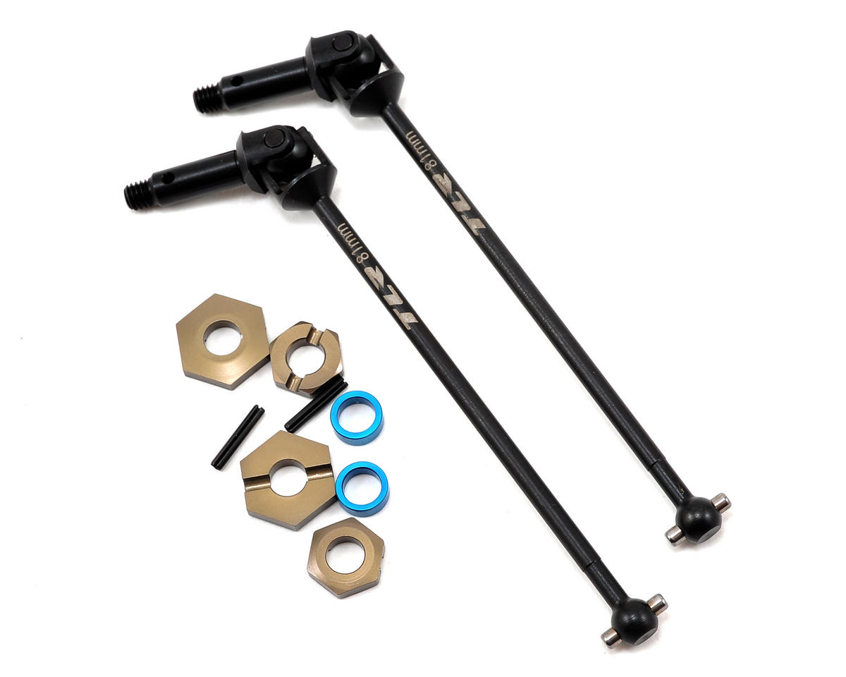 Team Losi Racing 22-4 Front Driveshaft Assembly (2)