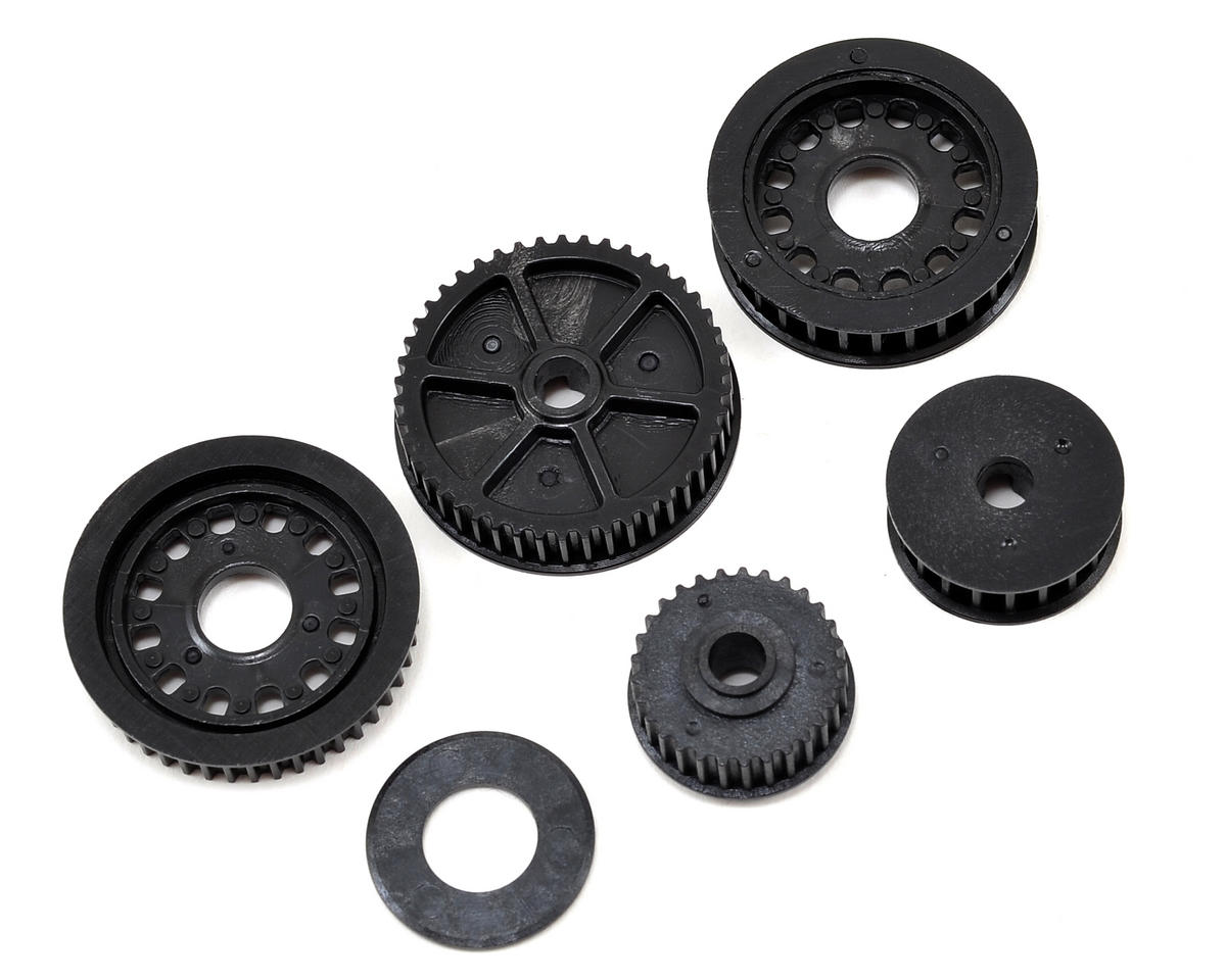 22-4 Drive & Differential Pulley Set by Team Losi Racing