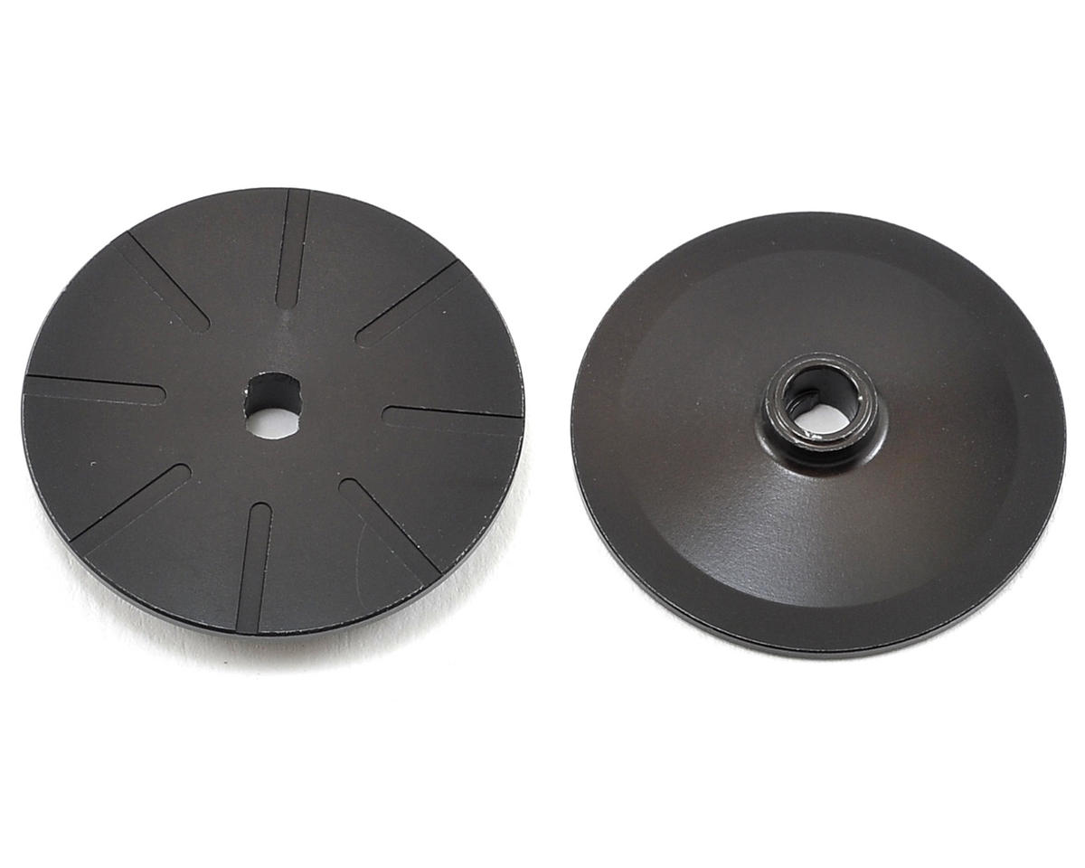 Team Losi Racing Grooved Slipper Plates (2)