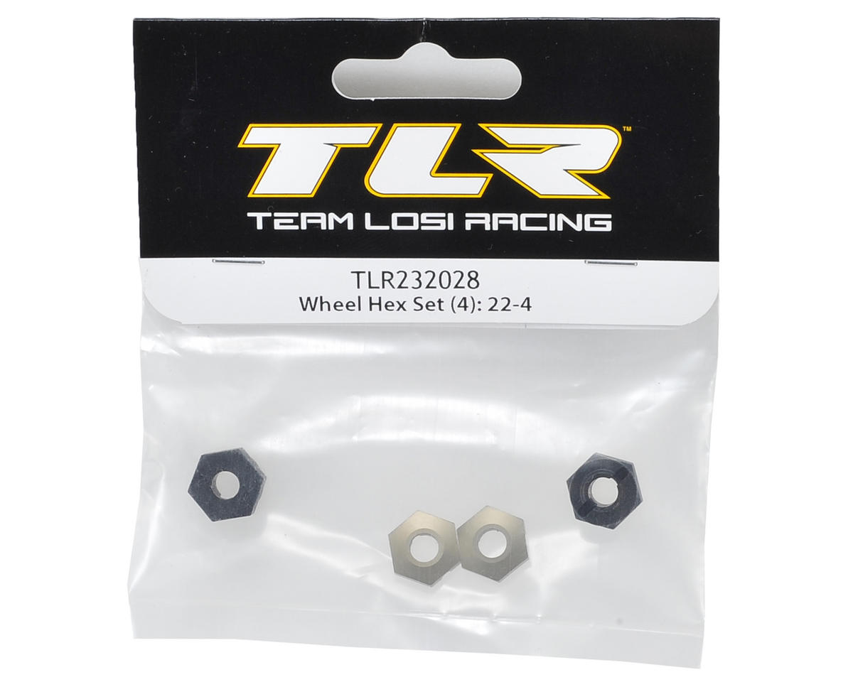 Team Losi Racing 12mm 22-4 Wheel Hex Set (4)