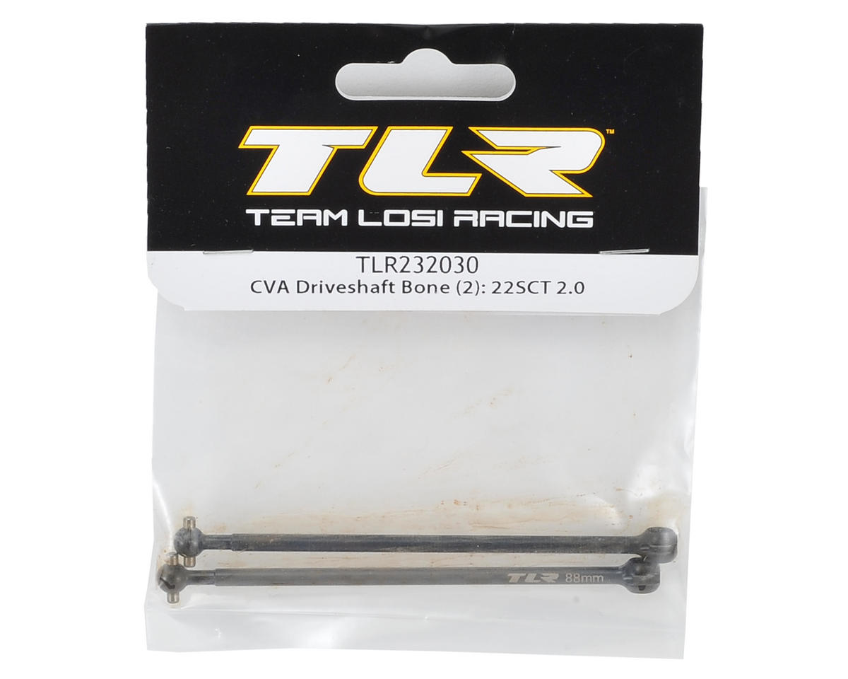 Team Losi Racing 88mm CVA Driveshaft Bone (2)