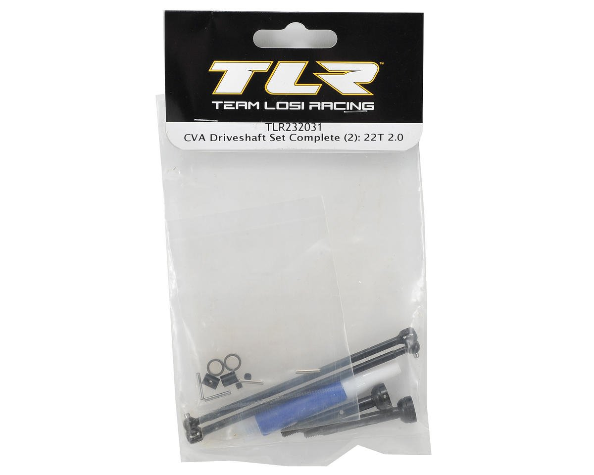 Team Losi Racing Complete CVA Driveshaft Set (2)