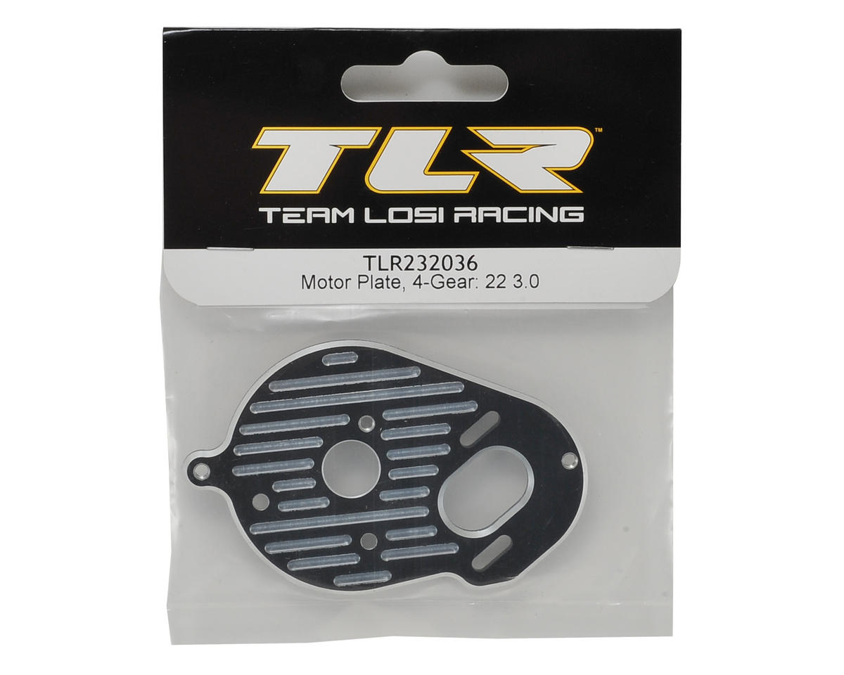 Team Losi Racing 22 3.0 4 Gear Motor Plate