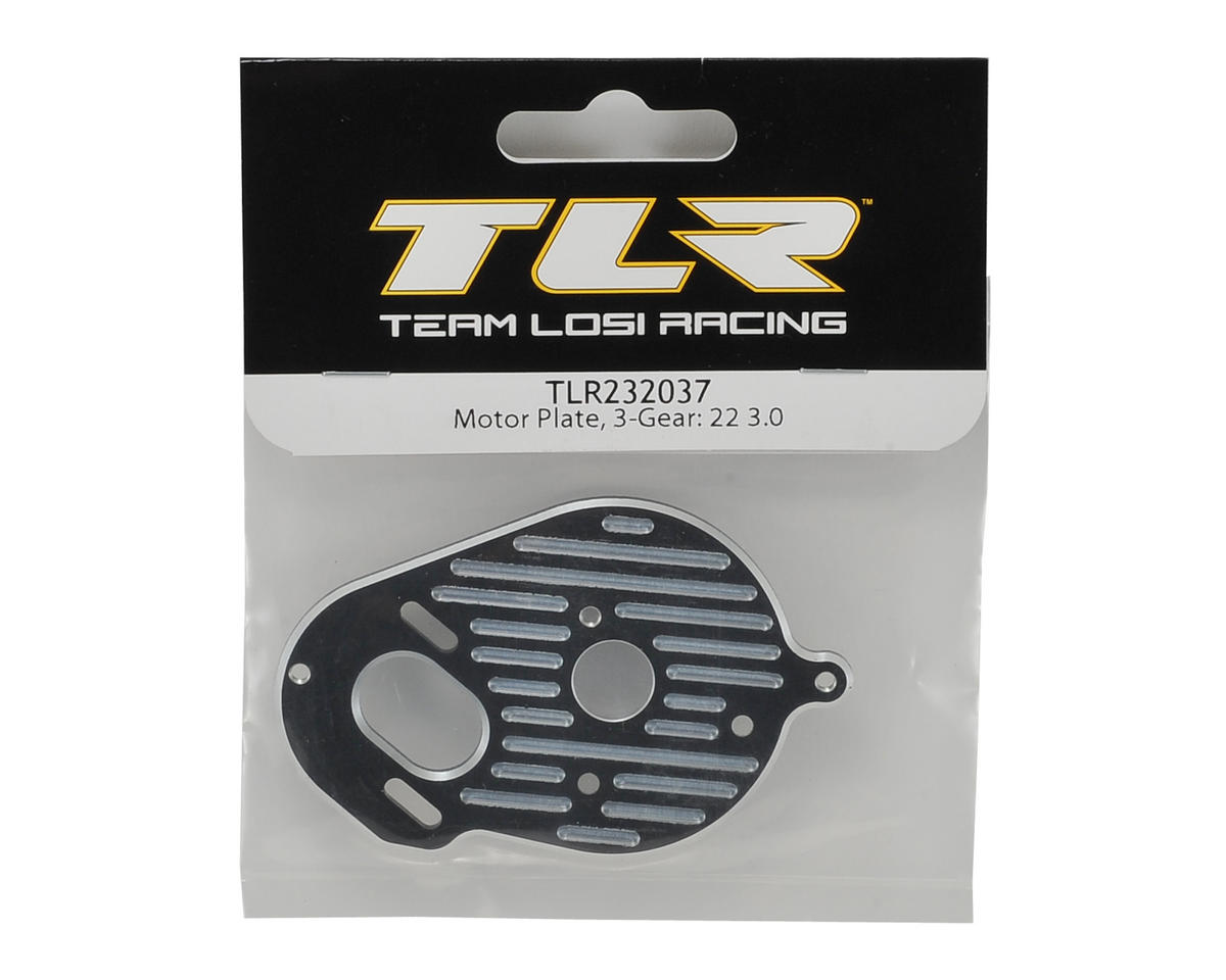 Team Losi Racing 22 3.0 3 Gear Motor Plate